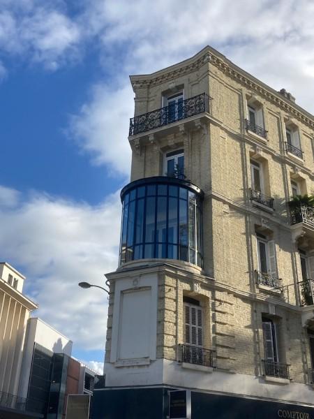Rotonde classée par les Bâtiments de France, en plein centre ville du Havre